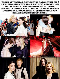 #Carol - #CateBlanchett and #RooneyMara