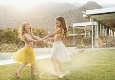 sprinkler fun - photo sess idea