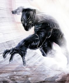 Black Panther in new promo art for Captain America: Civil War