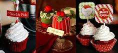 Christmas desserts – Cupcakes
