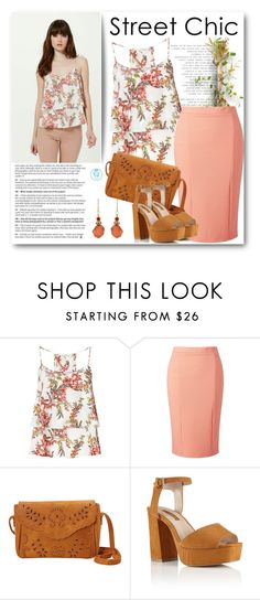 """""""Camis & Pencil Skirts"""" by queenvirgo ❤ liked on Polyvore featuring Miss Selfridge and Barse"""