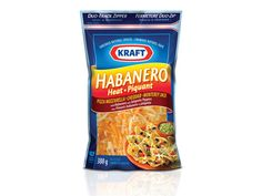 Waiting to try this! Products - Cheese & Dairy - Kraft Habanero Heat Shredded Cheese - Kraft First Taste Canada New Recipes, Snack Recipes, Favorite Recipes, Snacks, Recipes From Heaven, What To Cook, Food To Make, Cowboy Casserole, Food Porn