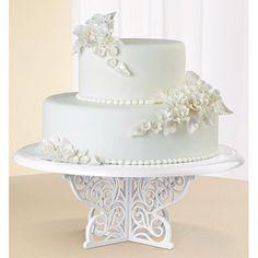 Wilton Fancy Scrolls Cake Stand #cakestand