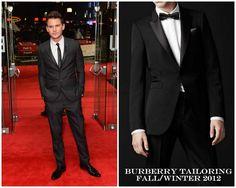 "The Derek's Blog: Jeremy Irvine en Burberry Tailoring – ""Great Expectations"" London premiere"