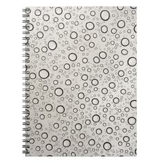Raindrops Note Book. Artwork designed by #OneArtsyMomma. $15.95