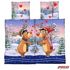 Weihnachten – Zeit der Liebe! Kissenbezüge: ca. 80 x 80 cm, Bezüge: ca. 135 x 200 cm #weihnachten