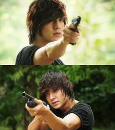 Lee Min Ho 💜 from City Hunter Boys Over Flowers, Flower Boys, Asian Actors, Korean Actors, Korean Dramas, Love You Very Much, My Love, Dance Sing, Park Min Young