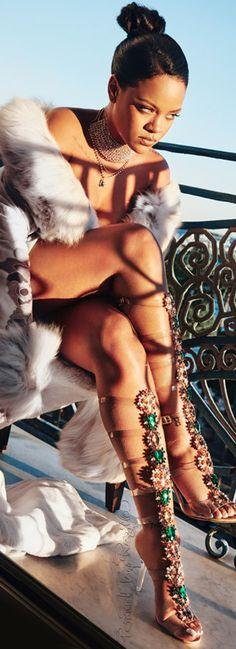 Regilla ⚜ Rihanna for Manolo Blahnik