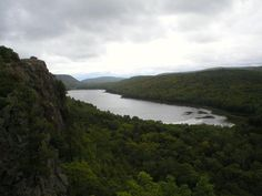 Lake of the Clouds in the Porcupine Mountains.  Upper Peninsula, Michigan.