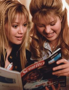 "Lizzie McGuire & Kate actually get along for awhile in ""The Lizzie McGuire Movie""."