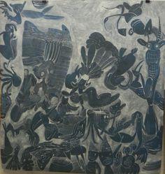 LUÍS SILVEIRINHA Untitled, 2013 Gouache on fabrian paper 300 gr  147 cm X 140,5cm