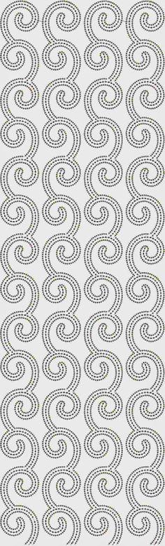 tradisionele masjien borduurwerk Oral patroon