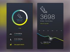 Fitness Tracker App Concept