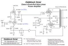 OddBlocks - Class-A Push-Pull Tube Amplifier Driver)