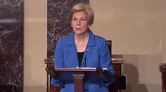 Elizabeth Warren Told To Sit Down