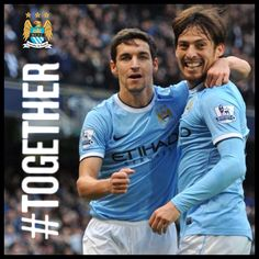 We are #mcfc and we are #together #manchester #city