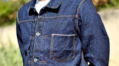 Selvedge denim jacket