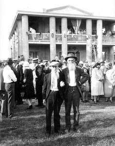 Confederate veterans at the Gamble Plantation Judah P. Benjamin Memorial: Ellenton, Florida