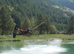 Wakeboard Schalisee Tæsch Wakeboarding, Mountains, Sport, Nature, Travel, Deporte, Naturaleza, Viajes, Excercise
