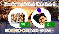 Najpopularniejsze stojaki na drewno GRAB 2 i GRAB 1 to już 1000 sprzedanych na terenie Polski i EU.  Idealne do suszenia i wentylacji drewna, świetne na drewno kominkowe i opałowe. Zapraszamy na ePraktyk.pl - teraz wyjątkowo - Nosidło gratis!