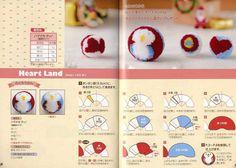 Hamanaka Cute Basic Pom Pom Balls  Japanese Craft Book