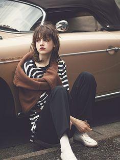 Look Fashion, Daily Fashion, Fashion Photo, Girl Fashion, Autumn Fashion, Fashion Outfits, Womens Fashion, Katharine Hepburn, Audrey Hepburn