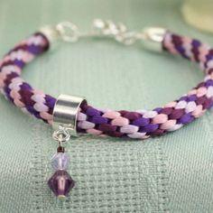 The Beadsmith® Kumihimo Simple Braided Bracelet #jewelry #DIY