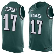 Nike Eagles Sidney Jones Midnight Green Team Color Men s Stitched NFL  Limited Tank Top Jersey And nfl jersey nike 4bbbab8db