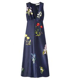Stella McCartney Botanical Embroidery 'Kaitlyn' Dress