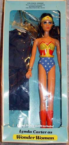 Every girl that group up in the 70's wants a Wonder Woman doll!