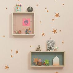 group-of-stars-sticker-copper