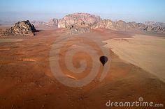 Wadi rum desert view by Claudia Fernandes, via Dreamstime