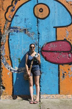 Ally at the Berlin Wall - by Efrat Flatow. www.flexhelp.de
