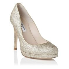 Sledge Glitter Platform Court Shoe | L.K.Bennett, London