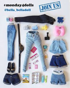 Doll Toys, Barbie Dolls, Coming Home Outfit Boy, Barbie Accessories, Barbie Clothes, Denim Pants, Skinny Jeans, Cook, Holiday