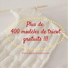 Modèles de tricots gratuits                                                                                                                                                     Plus