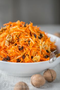 This carrot and apple salad is quick and easy; my kind of salad! My husband and I both kept going back to the bowl for refills and nearly finished the entire batch between the two of us, but you know what? It. felt .good! This...