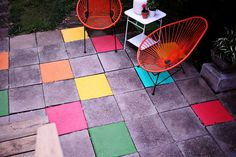 This is the coolest outdoor patio idea!