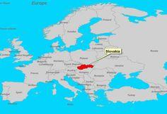 For those who have no idea where Slovakia is ;-)