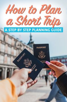Planning a Short Trip: A Step by Step Guide to Getting the Most out of Travel - Nina Near and Far Travel Info, Travel Advice, Budget Travel, Travel Usa, Travel Guides, Travel Tips, Travel Hacks, World Quotes, Short Trip