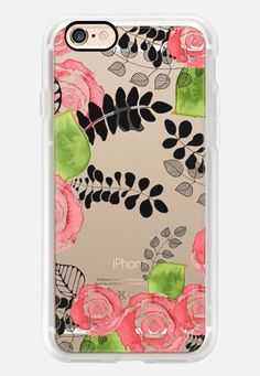 Roses all-over by GosiaandHelena iPhone 6s Case by GosiaandHelena   Casetify (UK)