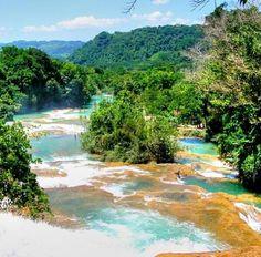 Agua azul Chiapas Mexico