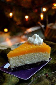 bardzo dobry sernik zjogurtów zbrzoskwiniowym musem Health Eating, Cheesecake, Baking, Desserts, Food, Cakes, Kuchen, Tailgate Desserts, Deserts