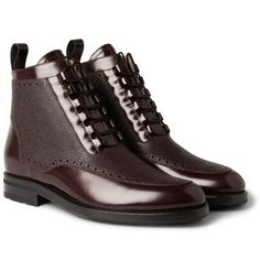 Impressive New Mr Hare lace-up Boots - theFREUD TEXTURED - At Mr porter