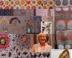 Sophie Digard and samples of her designs