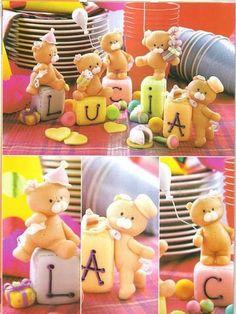 Pap ursinho carinhoso - PAP Michele Quoos Biscuit - Álbuns da web do Picasa