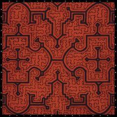 Shipibo Pattern 1249 at Maya Ethnobotanicals - Ayahuasca, Rainforest Plants, Shamanic Herbs, Incenses, Art & Visions