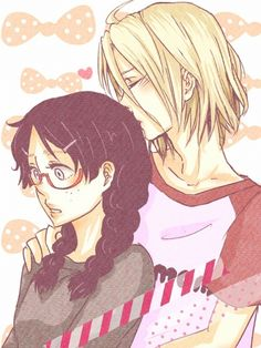 Princess Jellyfish....so cute!! ^_^ probably the cutest anime couple ever :)