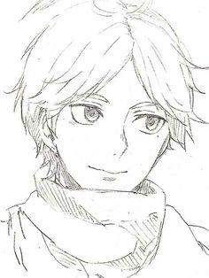 Boy Drawing, Manga Drawing, Manga Art, Anime Art, Manga Anime, Anime Drawings Sketches, Anime Sketch, Cool Sketches, Easy Drawings