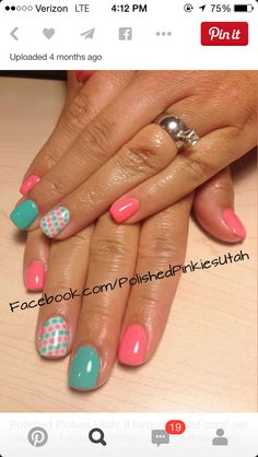 22 fun and easy nail designs for beginners easy nail designs 22 fun and easy nail designs for beginners easy nail designs easy nails and nail design prinsesfo Choice Image